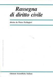 Rassegna di Diritto Civile 2002