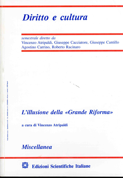 Diritto e Cultura 2002