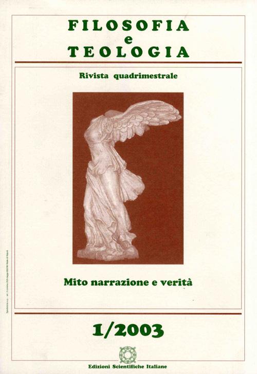 Filosofia e Teologia 2003